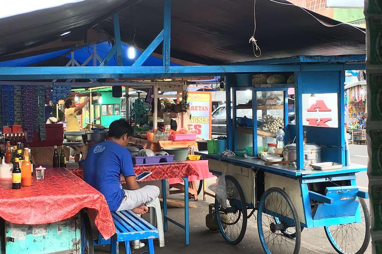 Omgivelsene-bali-markedet